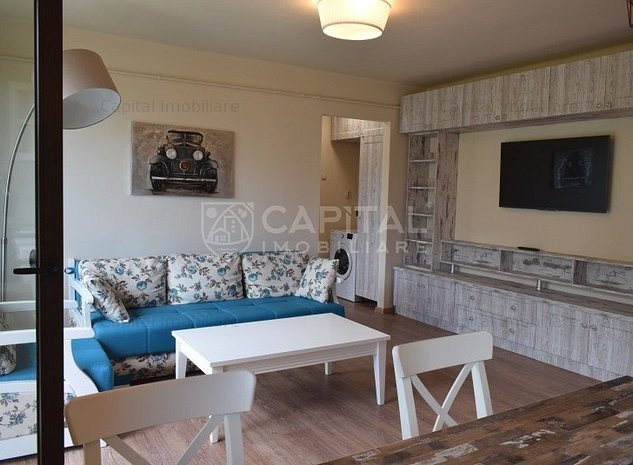 Vanzare apartament cu 2 camere semidecomandat Piata Mihai Viteazul - imaginea 1