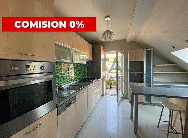 0 Comision ! Vanzare apartament 3 camere semidecomandat Manastur - imaginea 1