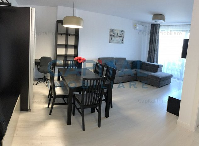 Inchiriere apartament 2 camere semidecomandat, Marasti - imaginea 1