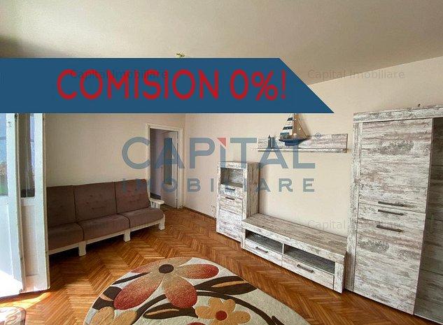 0 Comision ! Vanzare apartament Etaj 1, 3 camere semidecomandat Manastur - imaginea 1