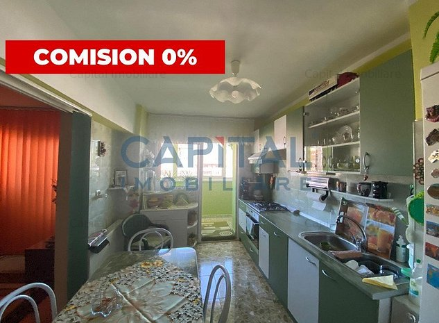 0 Comision ! Vanzare apartament 3 camere decomandat Manastur Calea Floresti - imaginea 1