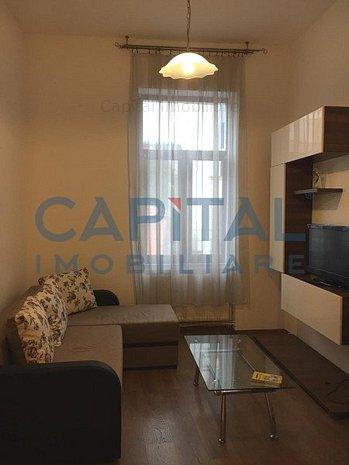 Inchiriere apartament cu 2 camere semidecomandat Centru - imaginea 1