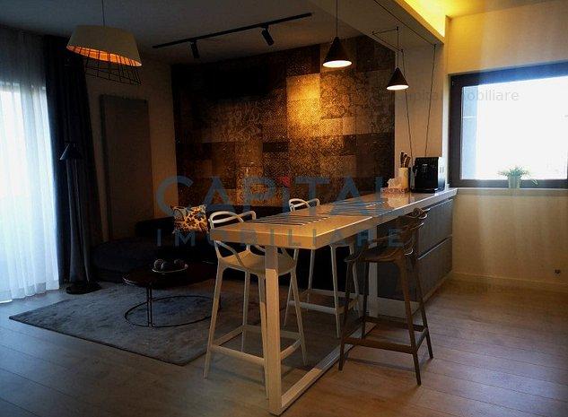 Apartament de lux 2 camere semidecomandat intr-o zona linistita, cartier Europa - imaginea 1