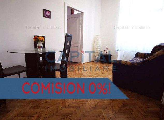 Comision 0%! Apartament 3 camere In centru, Cluj-Napoca - imaginea 1