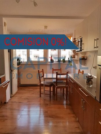 Apartament 2 camere decomandat, zona Cinema Marasti, comision 0! - imaginea 1