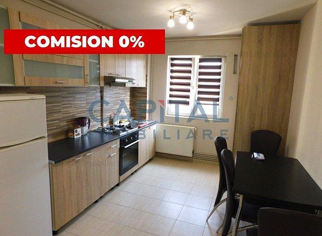 Comision 0! Vanzare apartament cu 2 camere semidecomandat, cartierul Gheorgheni - imaginea 1