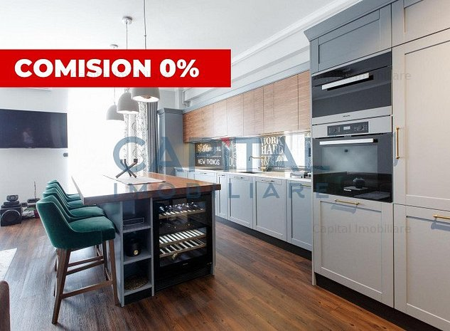 Comision 0! Vanzare apartament cu 3 camere semidecomandat Central, Cluj-Napoca - imaginea 1