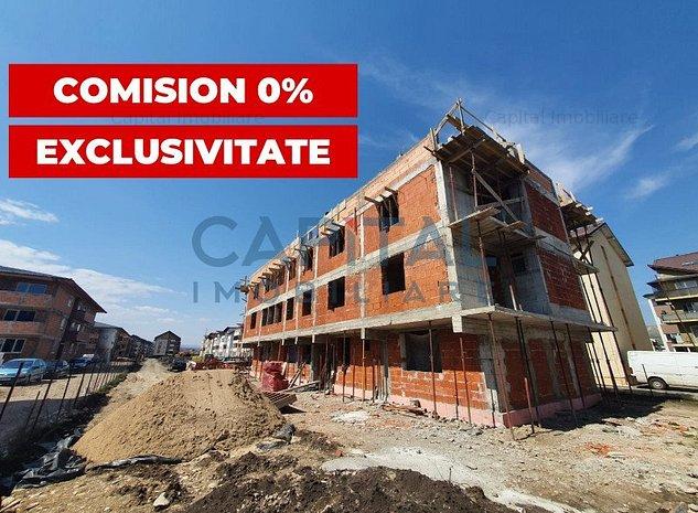 COMISION 0! Vanzare apartament 3 camere decomandat, Floresti - imaginea 1