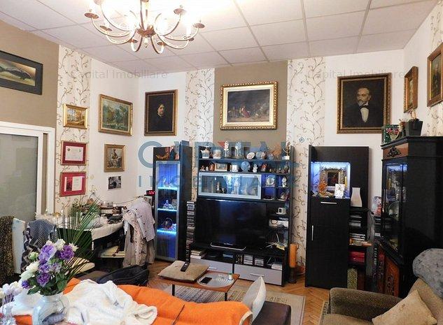 Comision 0! Vanzare apartament la casa cu 3 camere semidecomandat Central - imaginea 1