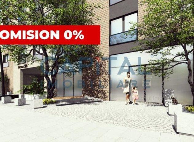 Spatiu comercial semifinisat, central, predare decembrie 2021 - Comision 0 - imaginea 1