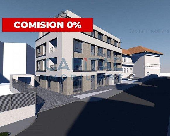 Spatiu comercial, central, semifinisat cu predare in sept. 2021 - Comision 0 - imaginea 1