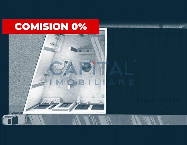 Spatiu comercial semifinisat, predare in oct 2021, Comision 0! - imaginea 1
