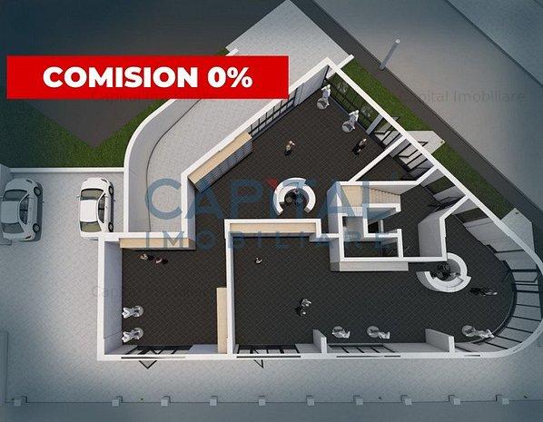 Spatiu comercial, semifinisat, predare dec.2021 - Comision 0! - imaginea 1