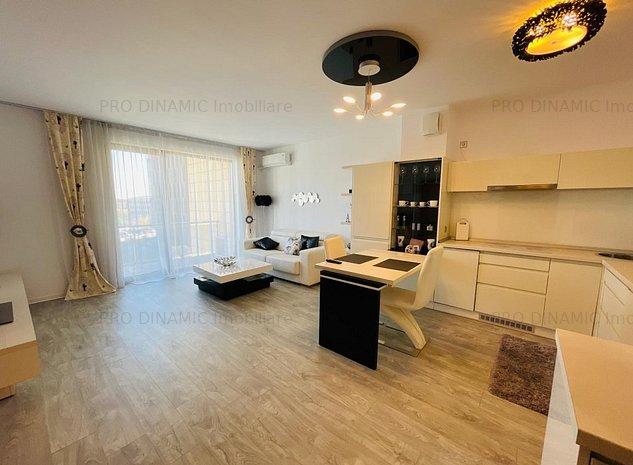 Apartament de inchiriat, 2 camere, in Riviera Luxury Residence. - imaginea 1