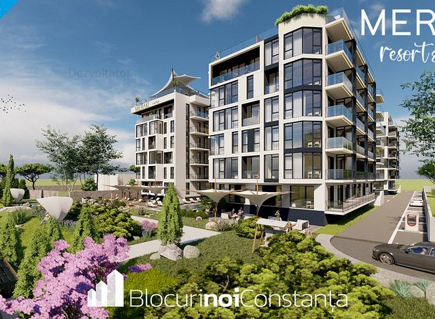 #Ofertă de lansare» Apartamente la cheie Meraki Resort&SPA; Mamaia Nord - imaginea 1