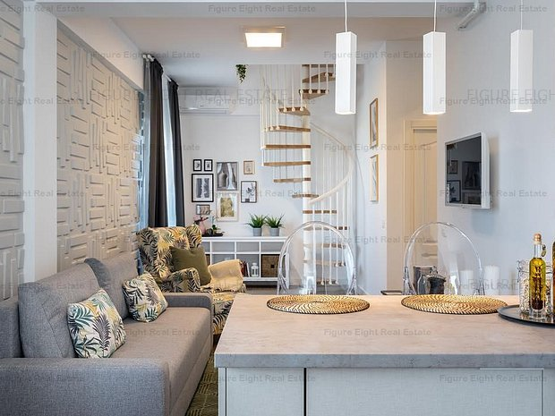 Duplex | 3 camere | Baneasa | LUX - imaginea 1