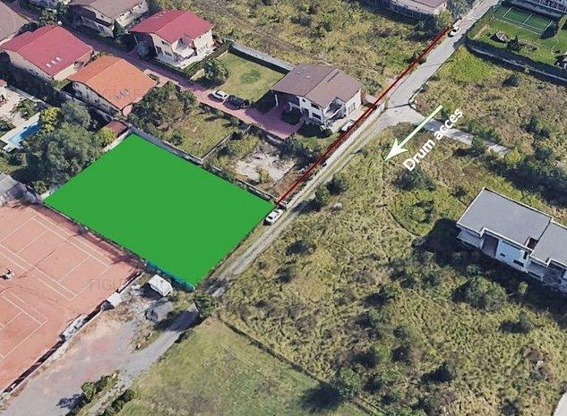 Teren | 5 camere | Pipera | 1000MP || Certificat de Urbanism - imaginea 1