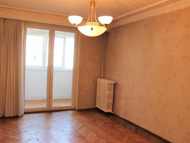 Vanzare apartament 4 camere Domenii- Stalpeanu zona verde bloc reabilitat - imaginea 2