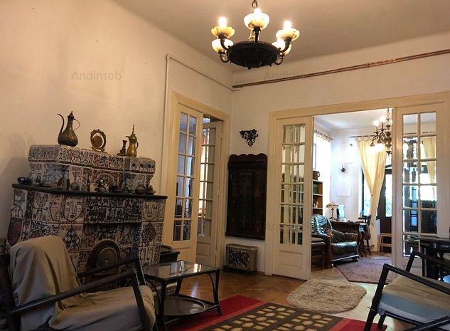 Vanzare apartament 7 camere Cotroceni cu terasa si gradina - imaginea 1