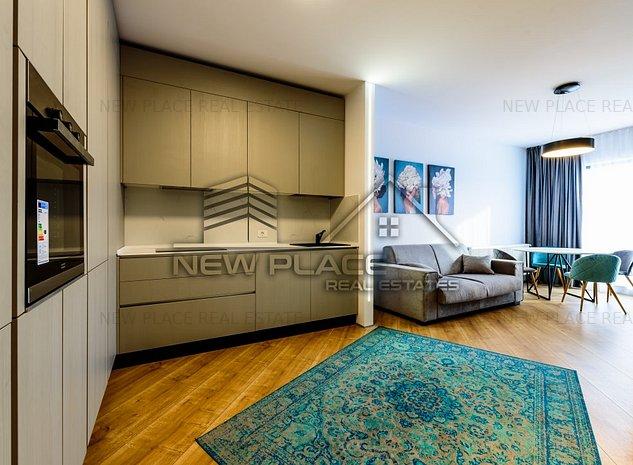** newplace.ro | 4City | Balcon de 6,10 mp | Vedere curtea interioara | Lux ** - imaginea 1