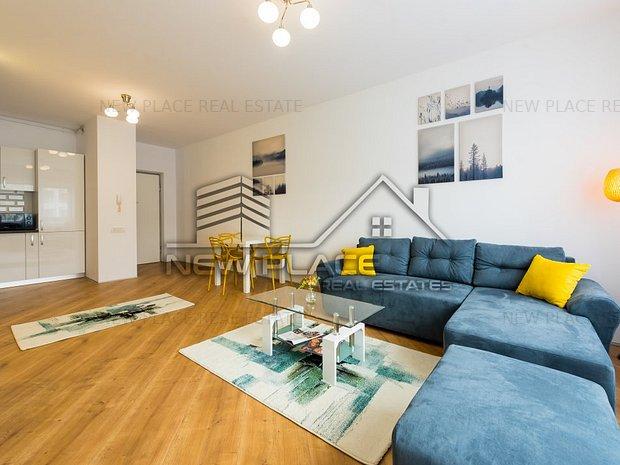 ** newplace.ro|4City|Prima inchiriere|Apartament deosebit|Lux|Rond OMV Pipera ** - imaginea 1