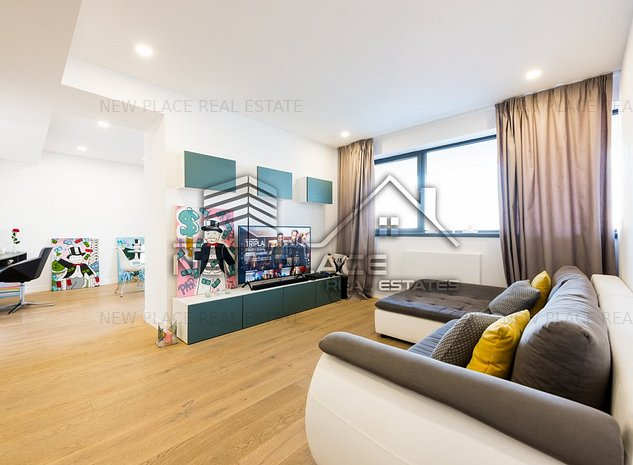 ** newplace ro   Cortina Residence   Terasa 20 mp   Vedere curtea interioara ** - imaginea 1