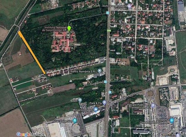 Teren de vanzare 7027mp Otopeni (In spatele Institutului Ana Aslan) - imaginea 1