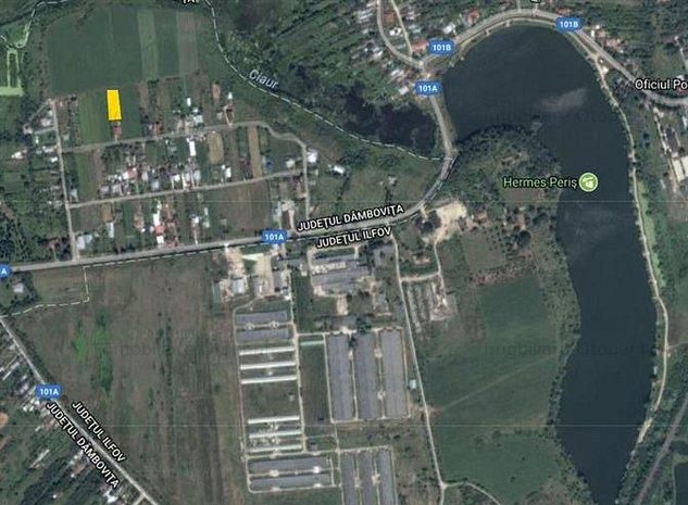Teren de vanzare 1167 mp Niculesti( langa Peris) - imaginea 1