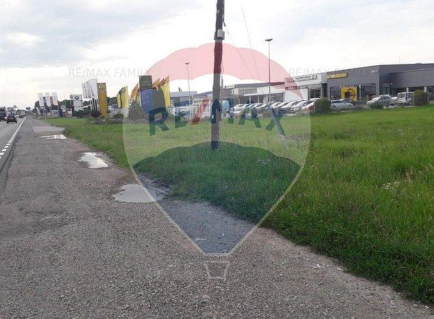 Teren intravilan Calea Clujului, intre reprezentantele Fiat si Opel. - imaginea 1