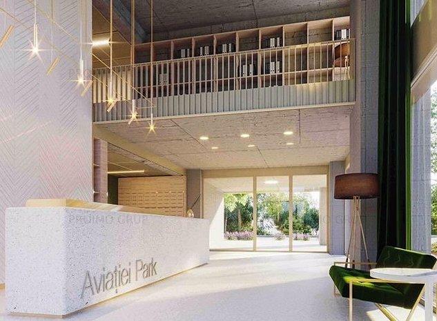 Luxury Apartement NEW building Furniture, Aviatiei Herestrau - imaginea 1