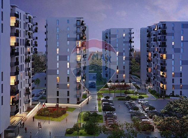 Citta Residential Park- 2 camere -Mega Mall - imaginea 1