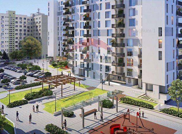 Apartament 3 camere  Citta Residential Park- Rond Delfinului -Mega Mall - imaginea 1