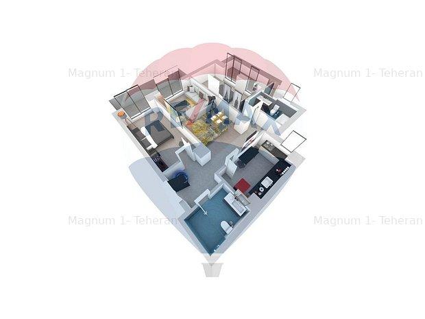 Apartament 3 camere decomandat Living Point Matei Basarab 91 - imaginea 2