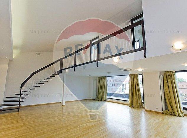 Penthouse duplex cu 5 camere de inchiriat in zona Primaverii Osho - imaginea 1