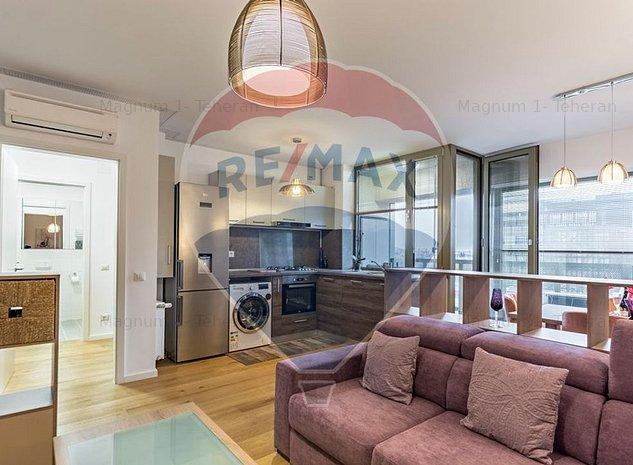 Apartament cu 2 camere de inchiriat Aviatiei Park - imaginea 1