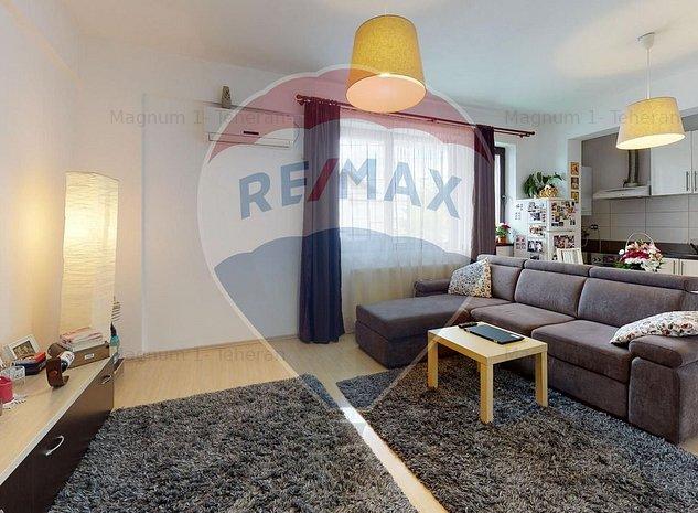Apartament de vanzare 3 camere - zona Parc Bazilescu - imaginea 1