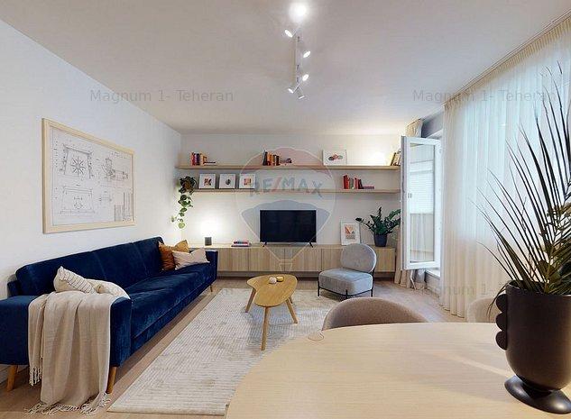 Apartament de vanzare cu 2 camere de vanzare in zona Dorobanti - imaginea 1
