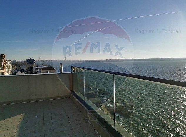 Apartament Penthouse Lux Mamaia Constanta mobilat-utilat, GARAJ - imaginea 1