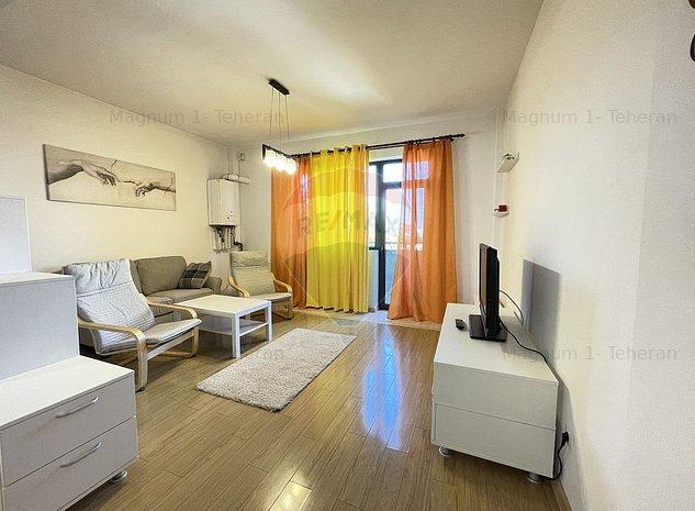 Apartament 3 camere de inchiriat Bucurestii Noi - Parc Bazilescu - imaginea 1