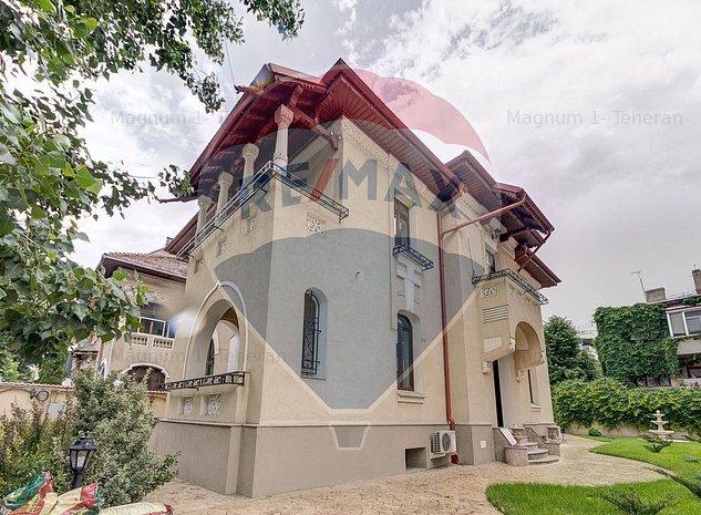 Vila interbelica de inchiriat in Dorobanti Capitale - imaginea 1