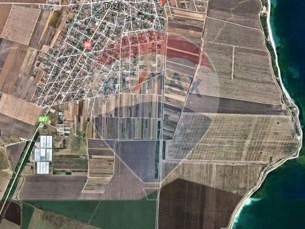 Vanzare 7000 mp in Tuzla Constanta cu 1000 mp hala construita - imaginea 1