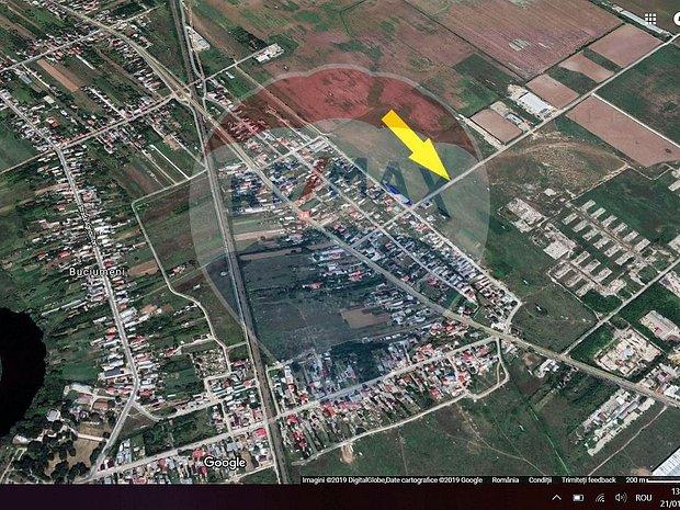 Vanzare teren industrial Buftea intravilan sosea 12000 mp - imaginea 1
