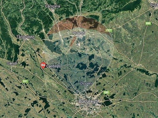 14500 mp  Contesti Dambovita 42 m deschidere DN 71 - imaginea 2