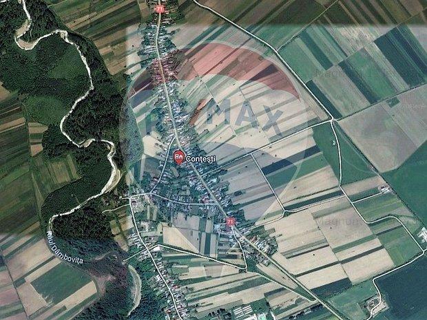 14500 mp  Contesti Dambovita 42 m deschidere DN 71 - imaginea 1