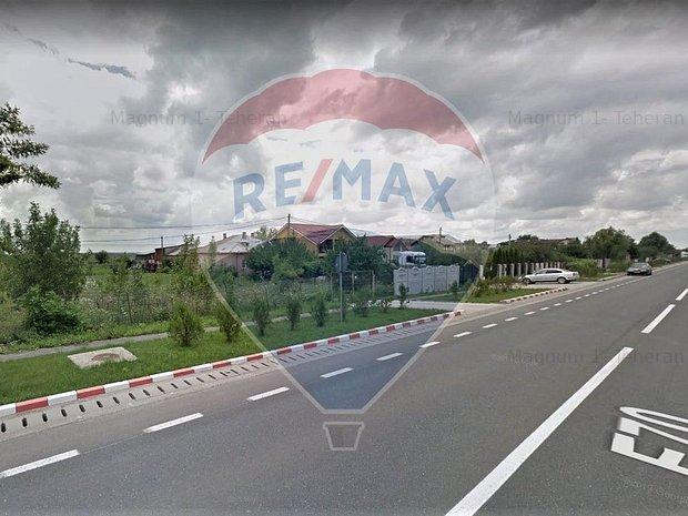 14000 mp teren in Mihailesti cu 64 m deschidere directa la DN 6 , E 70 - imaginea 1
