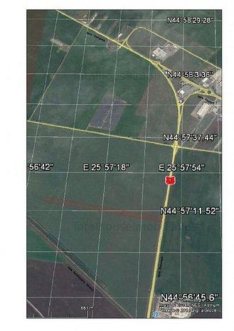 de vanzare teren extravilan zona exterior vest - imaginea 1