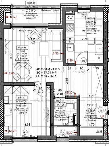 Apartament in imobil nou str Marasesti 178 - imaginea 1