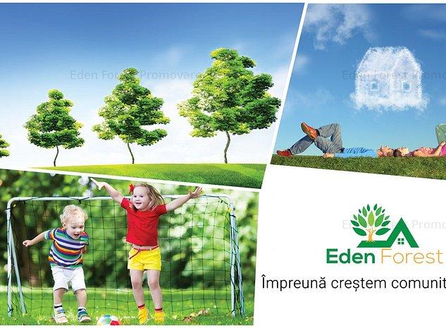 Teren in proiect rezidential nou, Eden Forest, Sat Gulia, Tartasesti - imaginea 1