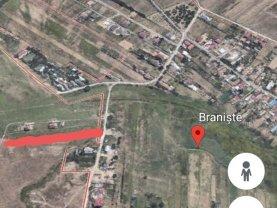 Teren constructii de vânzare, în Branişte (Podari)