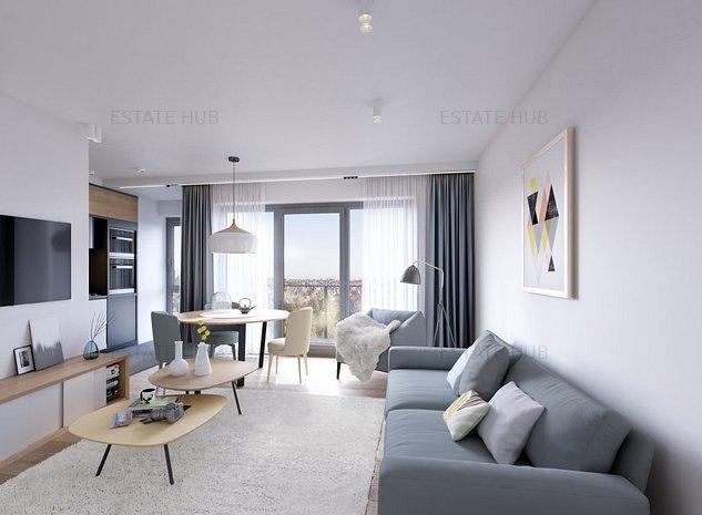 Apartament modern in zona exclusivista cu parcuri, piscina si gradina interioara - imaginea 1